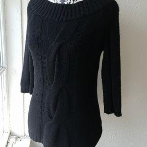 Vince Black Cashmere Sweater